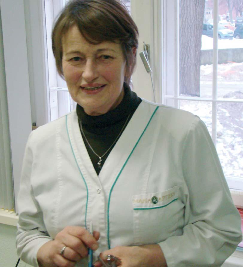 Marta Rozālija Tetere pēc rakstura ir īsts aptiekārs – savaldīga, rūpīga, nesteidzas ar spriedumiem un reizēm ļauj jokiem uzšķilt sirsnīgu dzirksteli