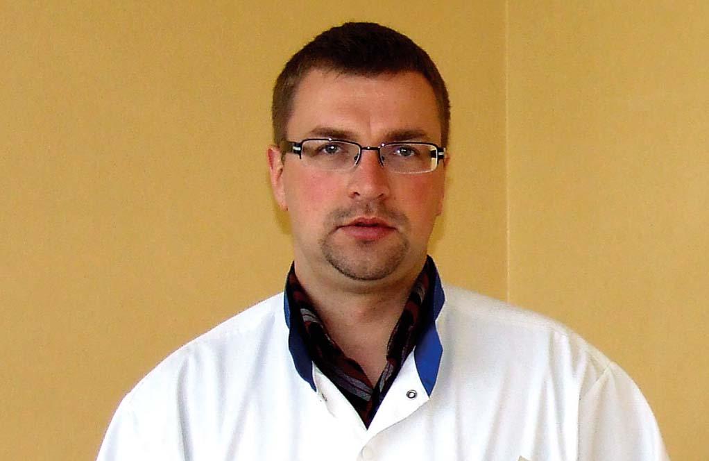 Ints Bruņenieks, ķirurgs Aizkraukles slimnīcā, dežūrārsts P. Stradiņa Klīniskajā universitātes slimnīcā