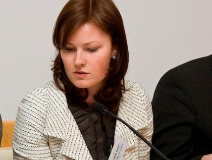 Pacientu ombuda valdes priekšsēdētāja Liene Šulce-Rēvele