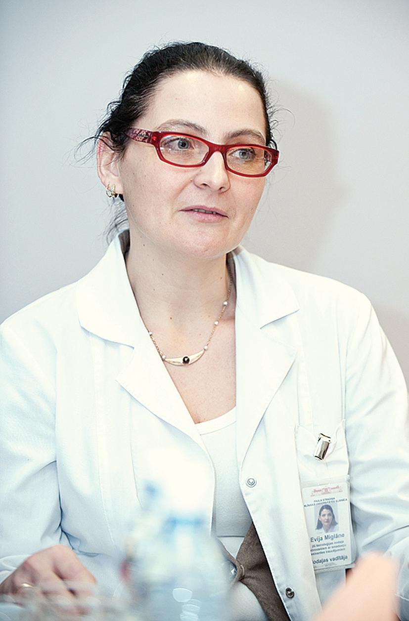 Evija MIGLĀNE, neiroloģe Paula Stradiņa Klīniskā universitātes slimnīca