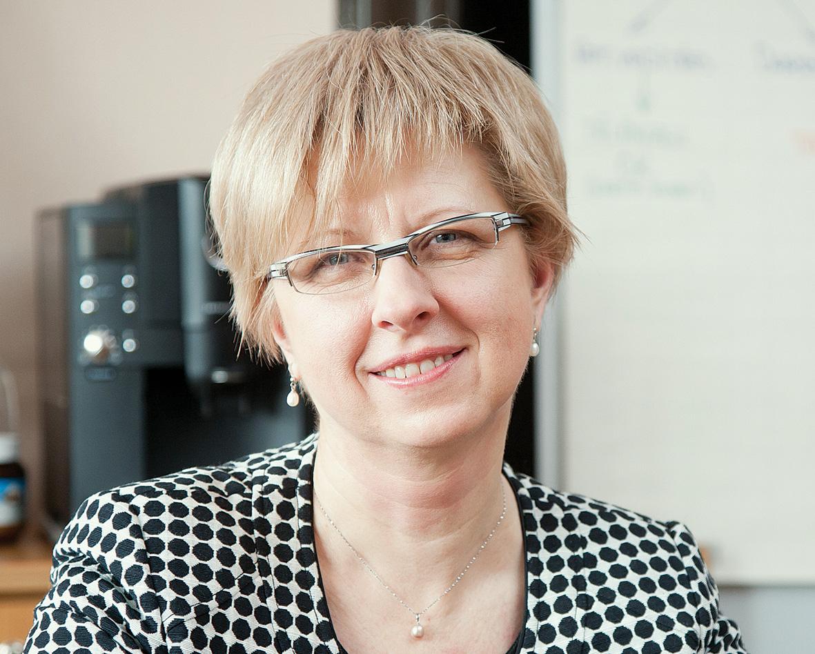 Latvijas Farmaceitu biedrības prezidente Kitija BLUMFELDE
