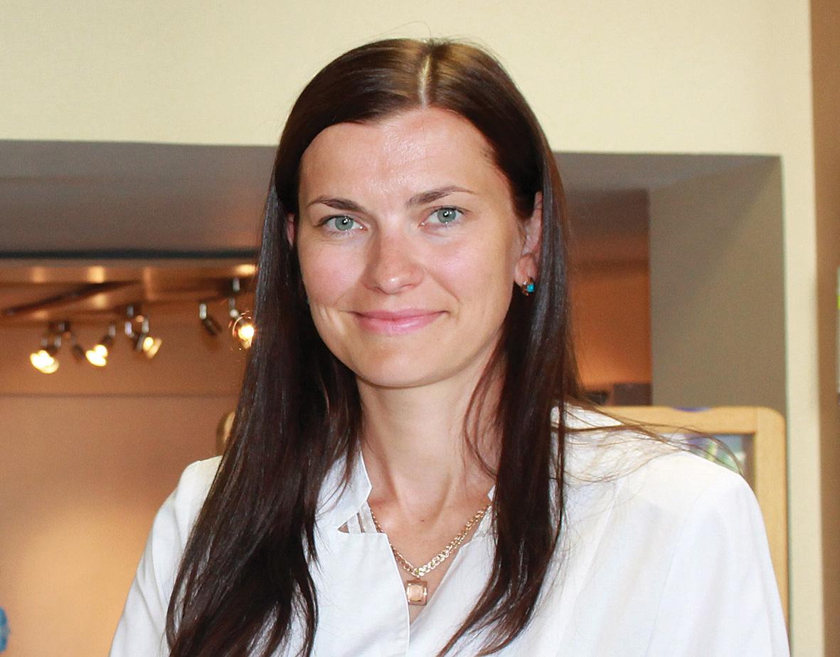 Latvijas Aptieku biedrības priekšsēdētāju Agnese RITENE