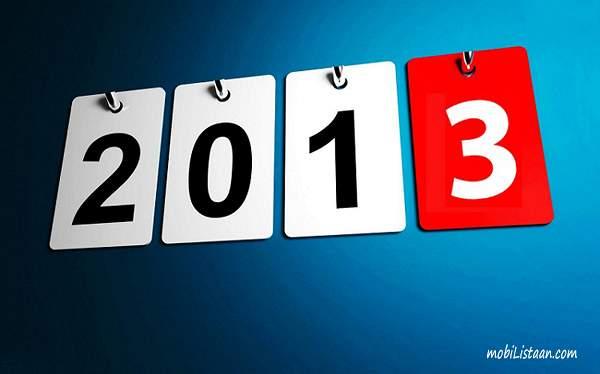 2013.gads. Īsziņās