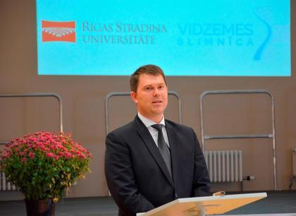 Vidzemes slimnīcas valdes priekšsēdētājs Uģis Muskovs