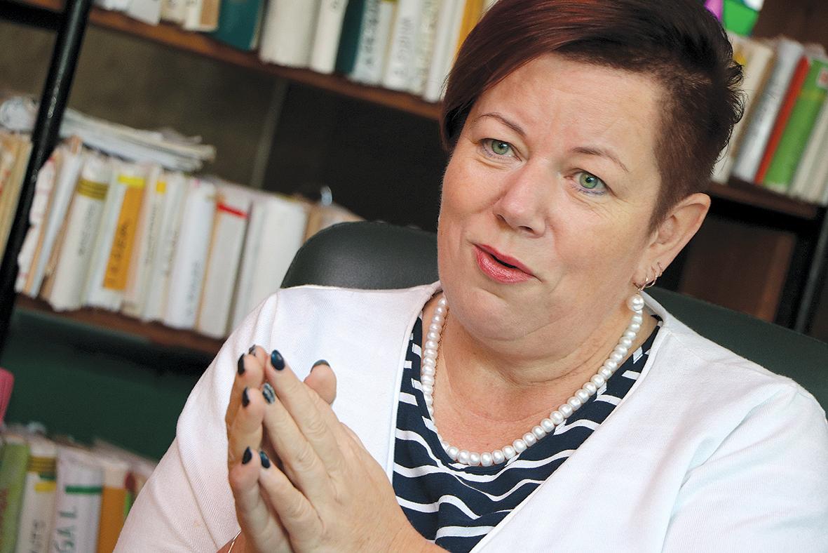 Marika Grūsle domā,  ka ģimenes ārstam nav tik svarīgi,  kāda ministra vadībā strādā,  vērtīgākais— atrast kopīgu valodu  ar pacientiem!