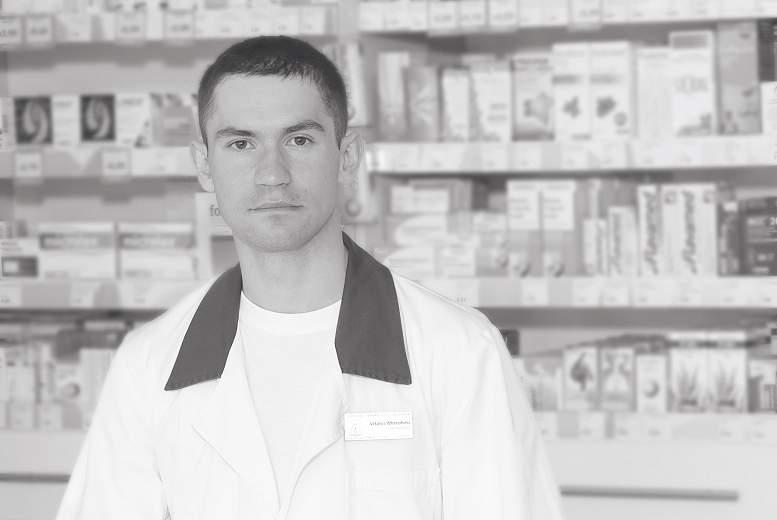 Jaunais farmaceits darba tirgū. Vitālijs Mitrohins, Līga Bērziņa