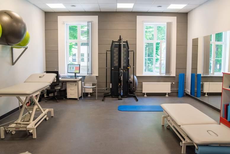 Rīgas 1. slimnīcas Rehabilitācijas klīnika – jaunās telpās