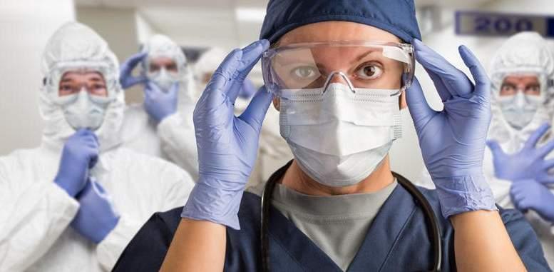 Veselības aprūpes darbinieki visvairāk pakļauti Covid-19 inficēšanās riskam