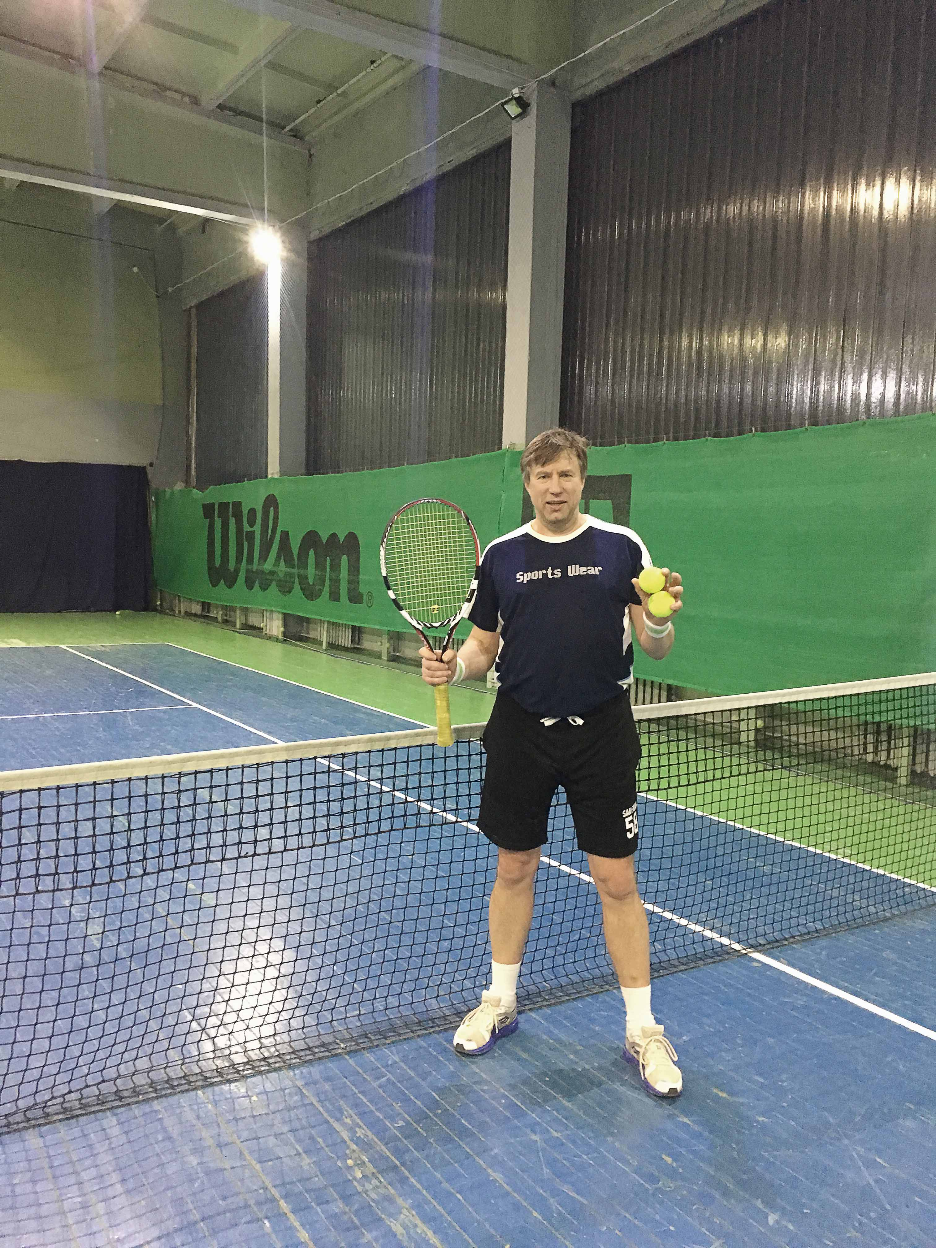 Starp dažādajām sporta nodarbēm arī teniss