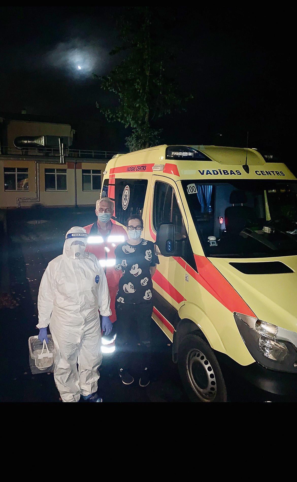 Ar NMPD mediķiem —  sagaidot preparātu no Rīgas