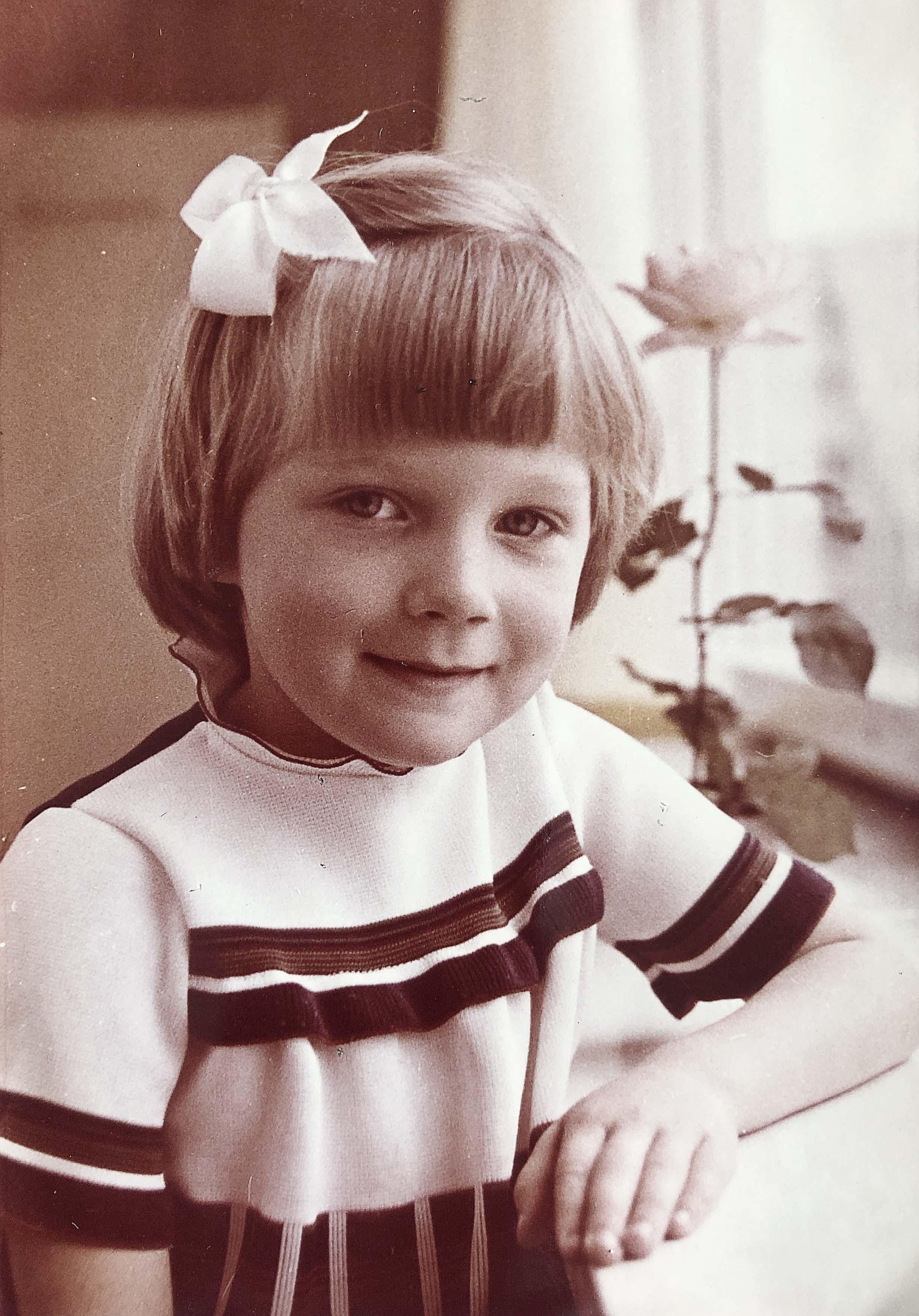 """""""Mīļākā fotogrāfija no bērnudārza laika, kad jau zināju, ka būšu ārste"""""""