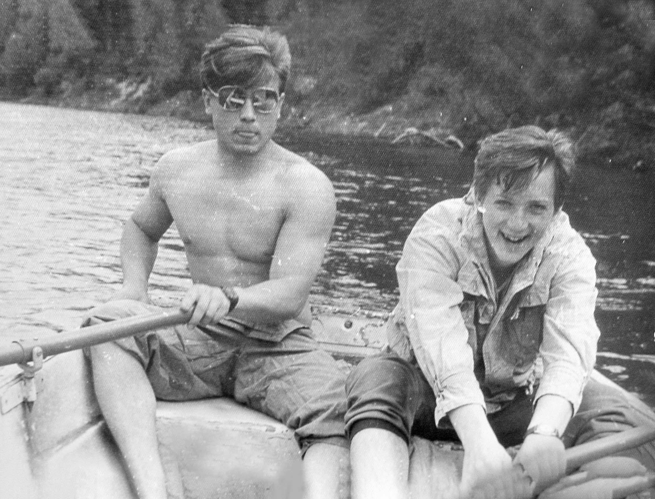 Laivojot pa Gauju. Arnolds Jezupovs — pa labi, 1989. gads