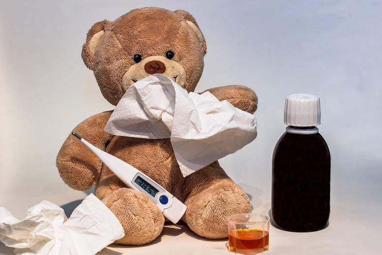 Gripas antivirālā terapija un hospitalizācijas ilgums bērniem
