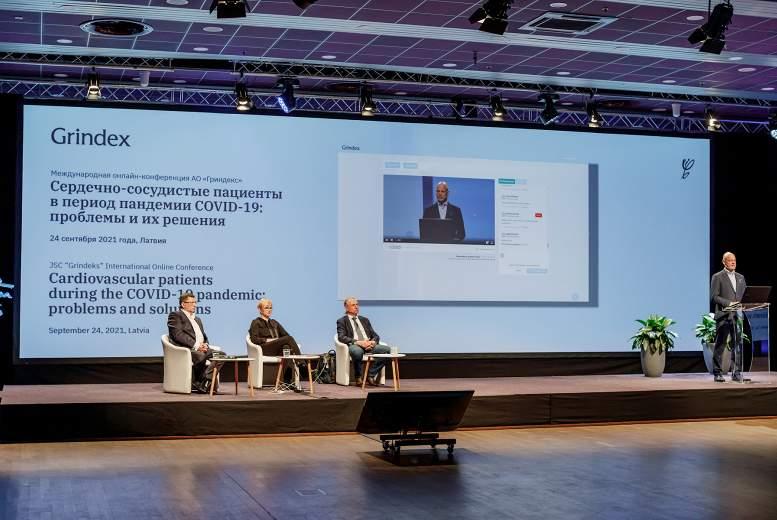 """""""Grindeks"""" organizē starptautisku konferenci """"Sirds un asinsvadu slimības Covid-19 pandēmijas laikā: problēmas un risinājumi"""""""