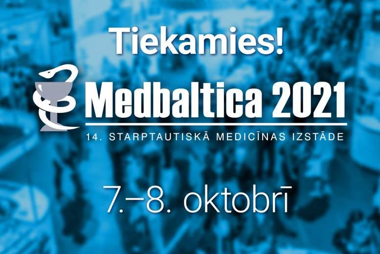 """Virtuālā realitāte rehabilitācijai un citas aktualitātes """"Medbaltica 2021"""""""